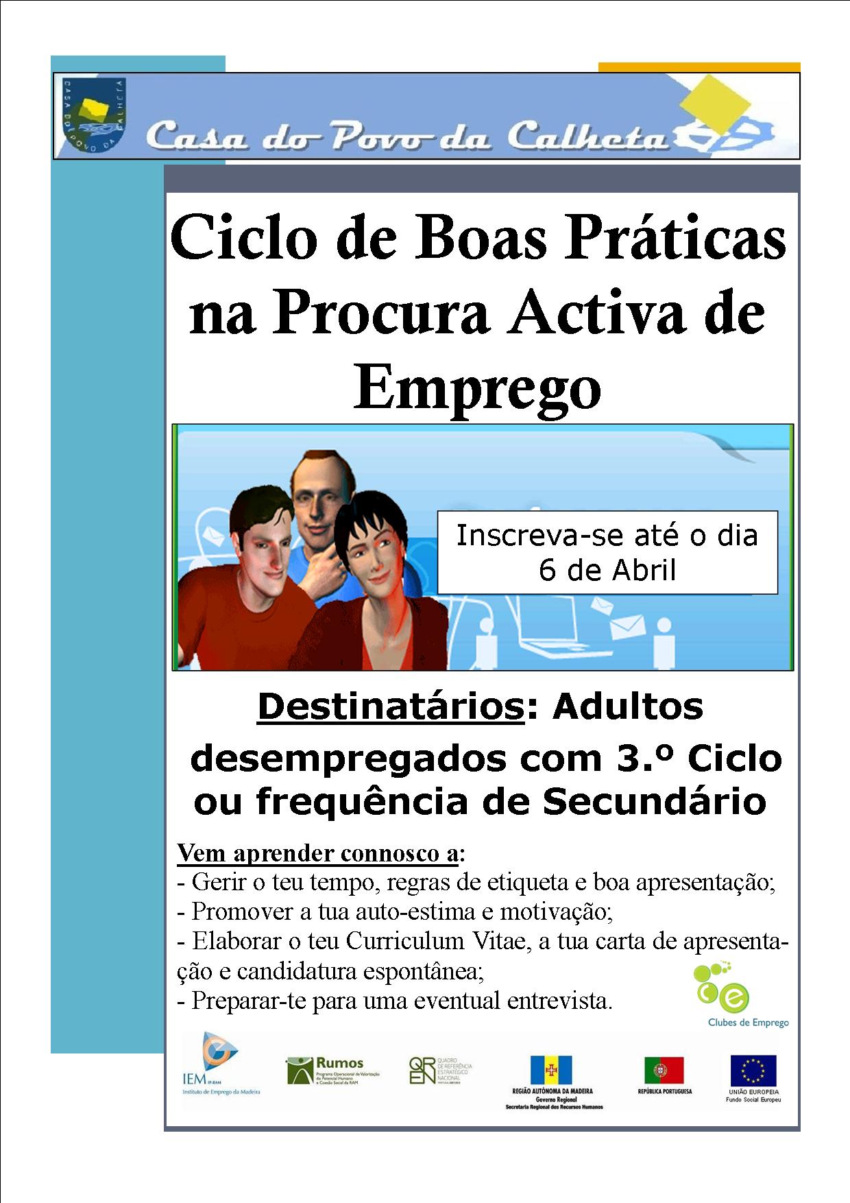 CICLO DE BOAS PRÁTICAS