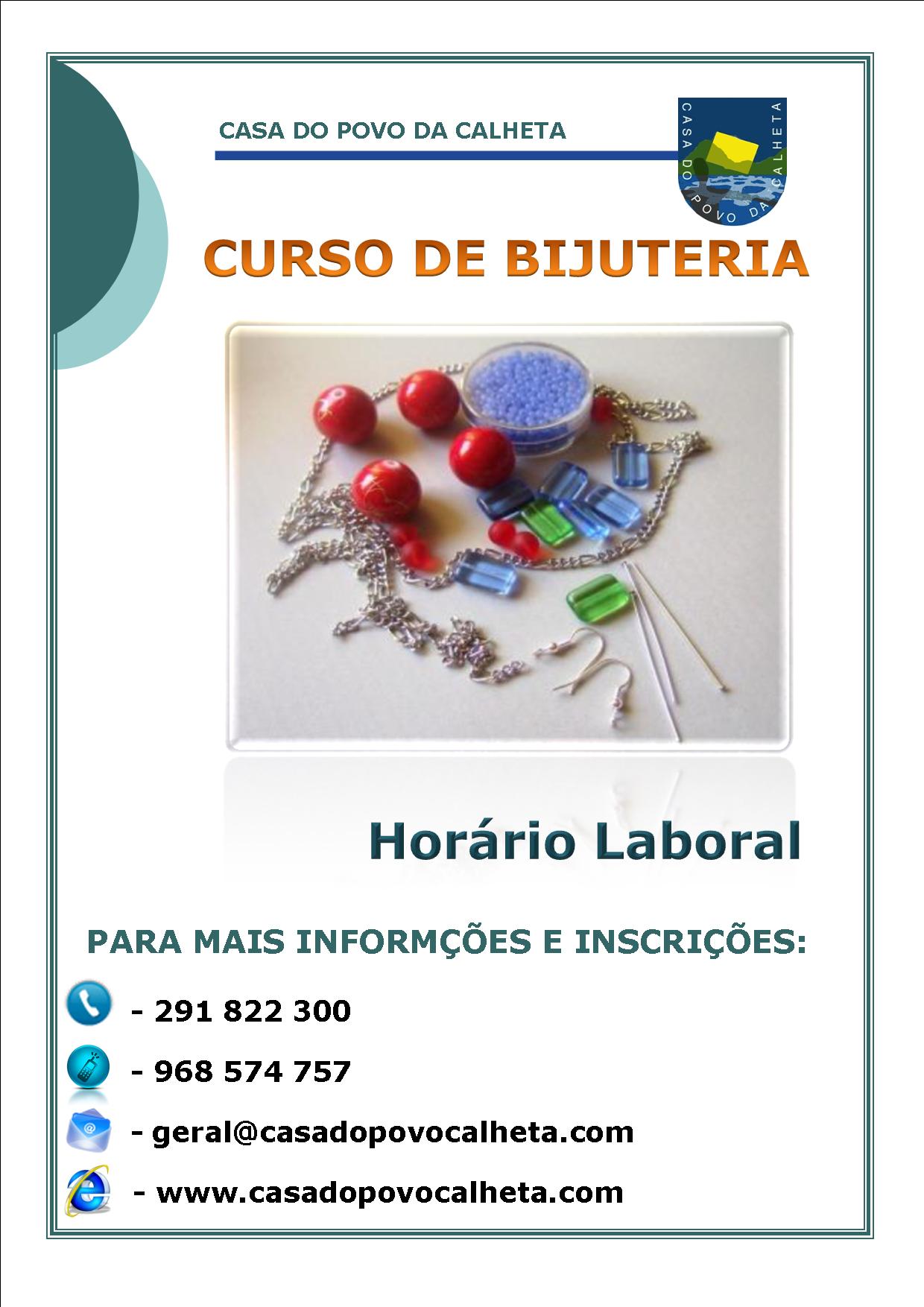 CURSO DE BIJUTERIA
