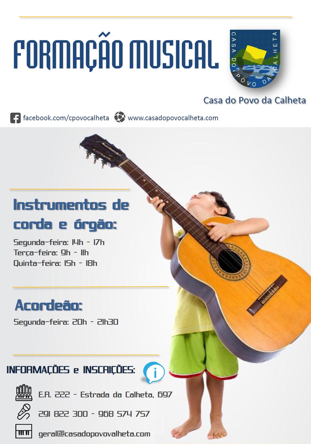 Formação Musical 2014-2015