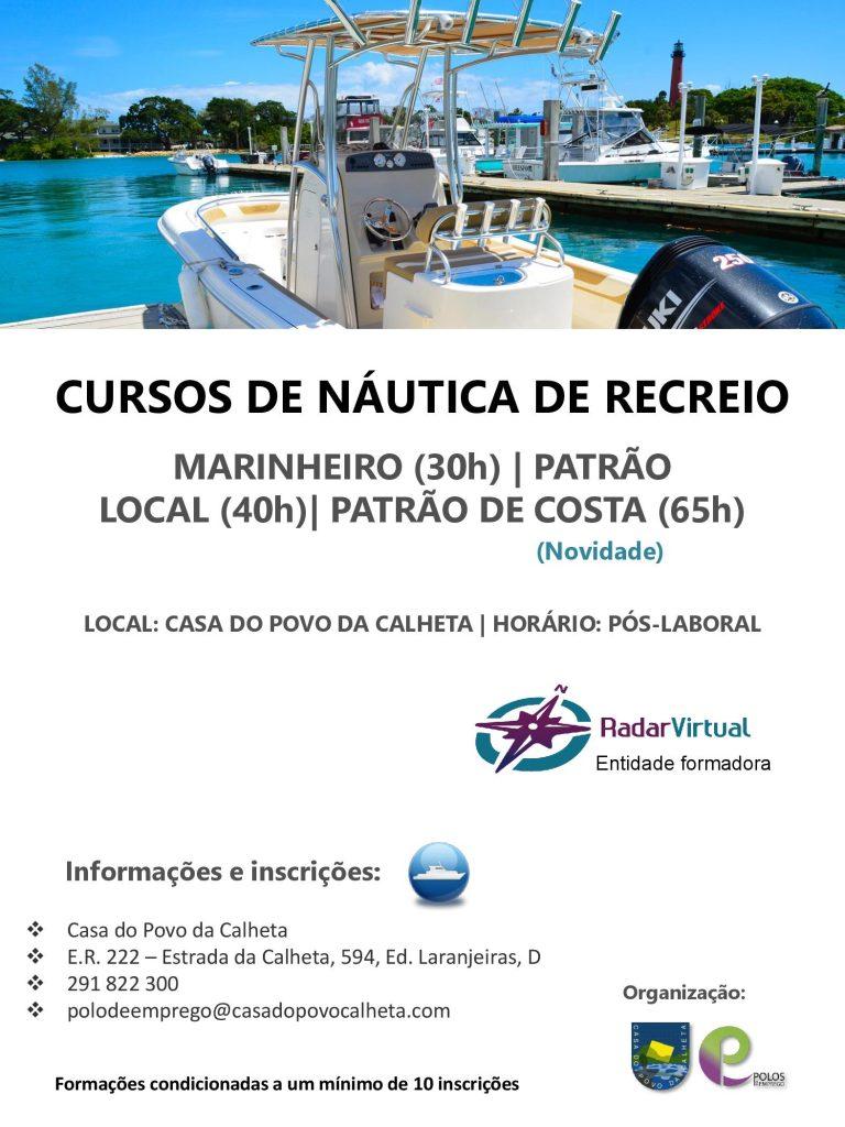 CURSO DE NÁUTICA DE RECREIO