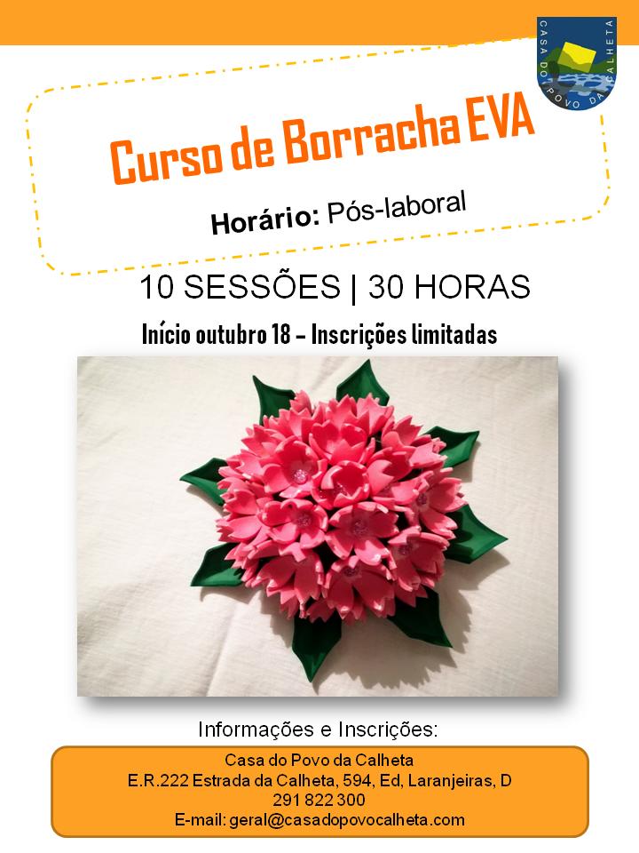 CURSO DE BORRACHA EVA