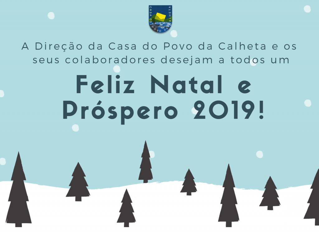 FELIZ NATAL E PRÓSPERO 2019!
