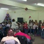 Atuação do Grupo de Formação Musical na Santa Casa da Misericórdia da Calheta